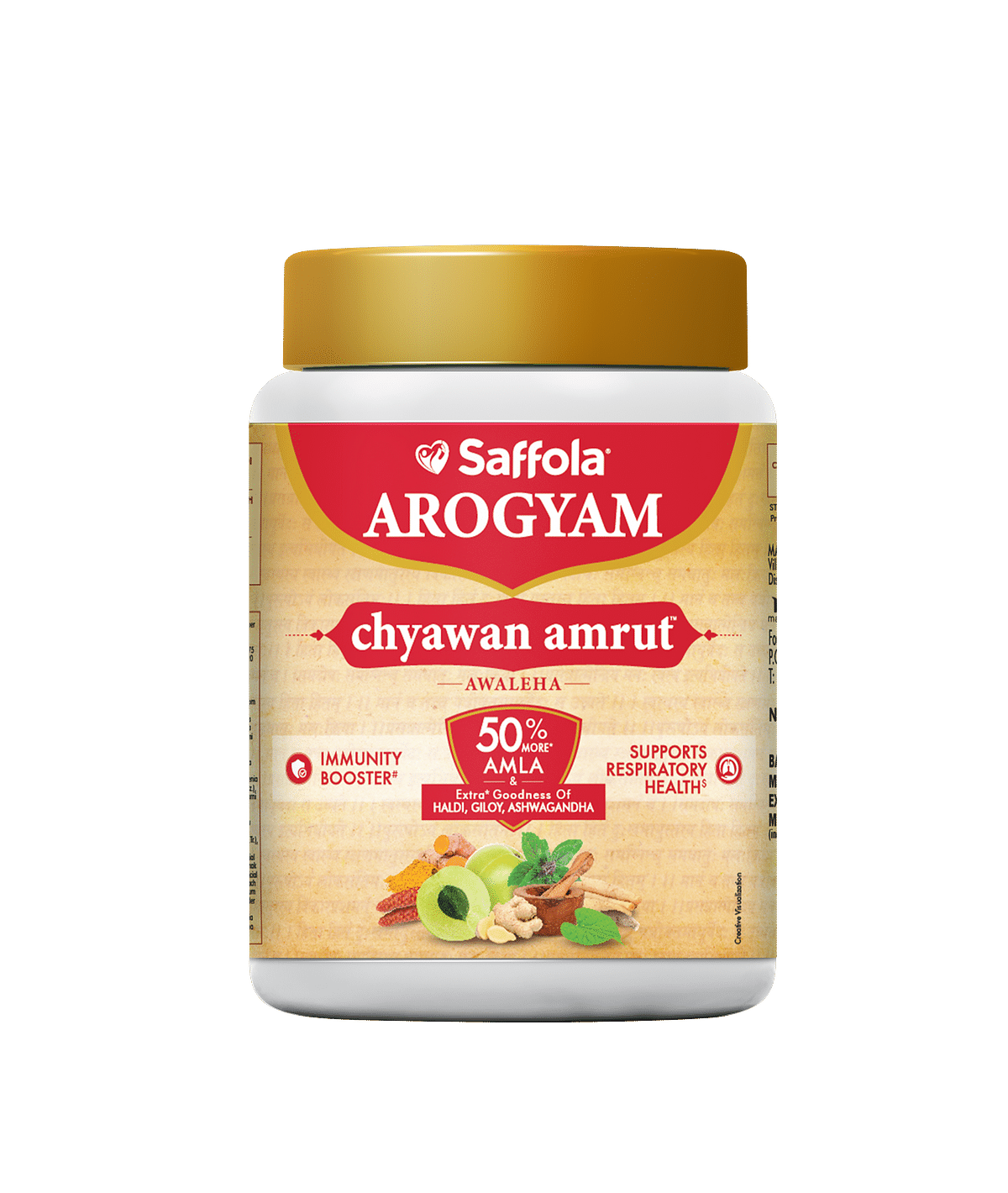 Saffola Chyawan Amrut takes on the amusing new trend of consuming too many herbal supplements…