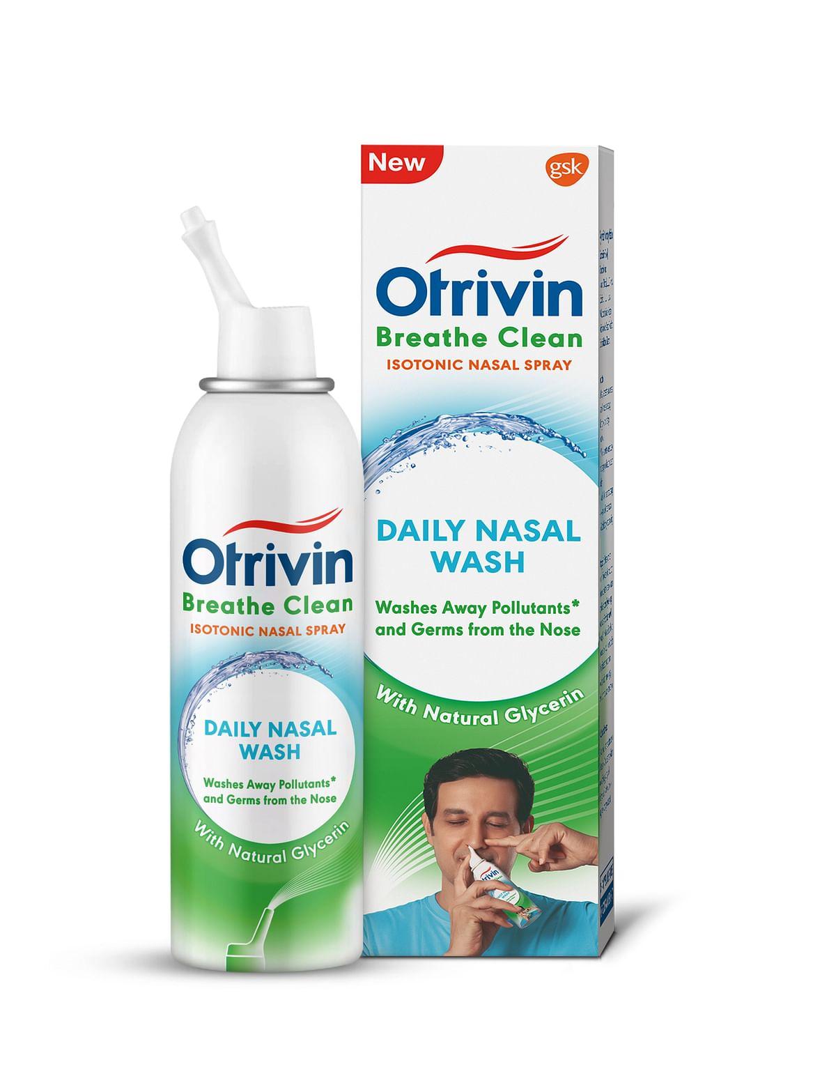Otrivin Breathe Clean Daily Nasal Wash