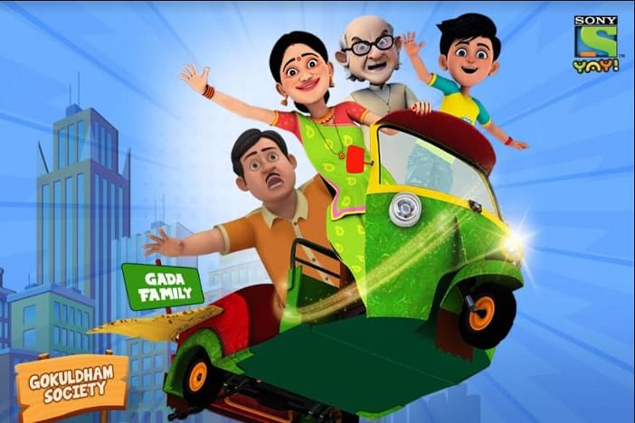 With 'Taarak Mehta Kka Chhota Chashmah' Sony YAY! woos kids and parents with animation; advertiser net widens