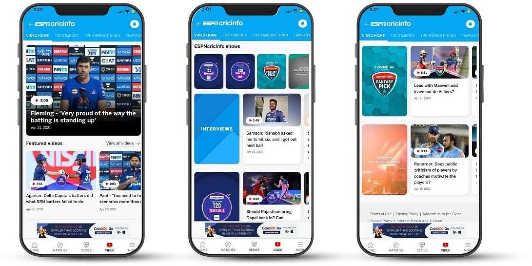 IPL, Cricket, and India: ESPNcricinfo introduces 8 New shows