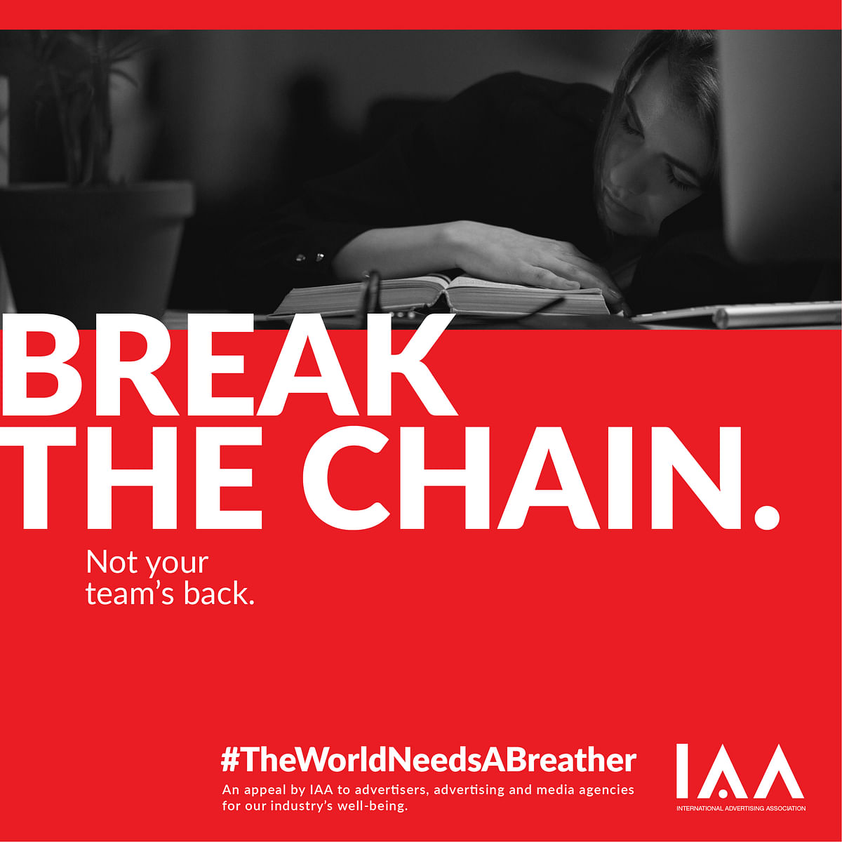 The IAA urges advertisers and agencies to take a breather