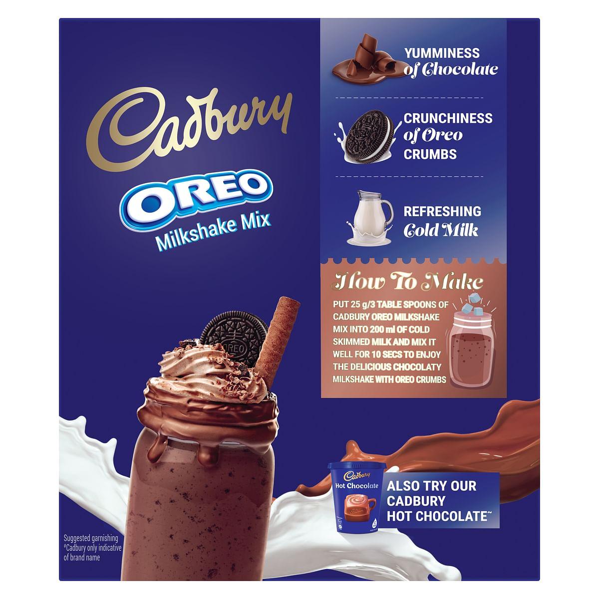 Cadbury Oreo Milkshake DIY guide