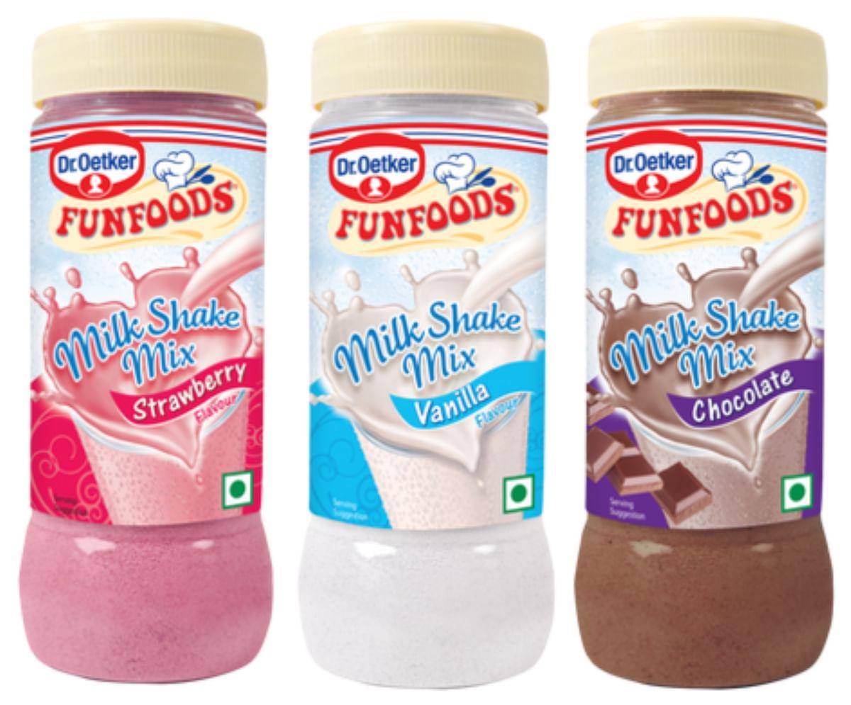 Funfoods shake mixes