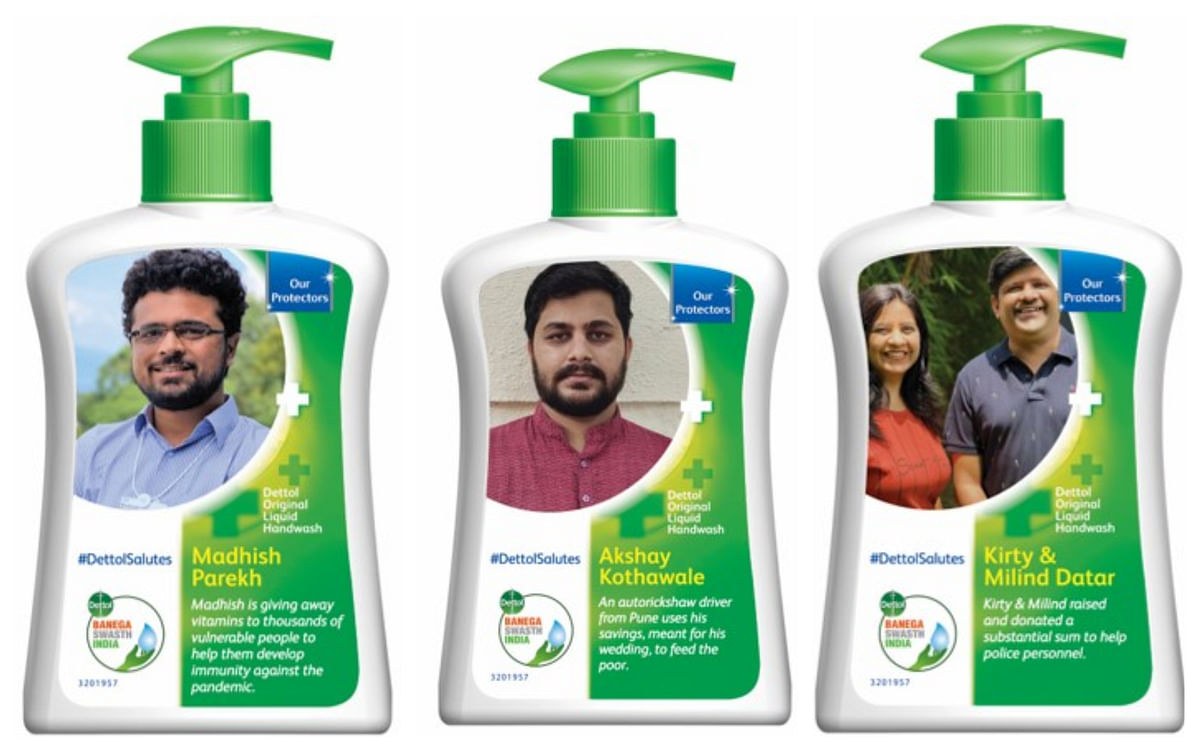As Dettol wins hearts with 'warrior packs', a look at recent tweaks to logos, packaging, across brands