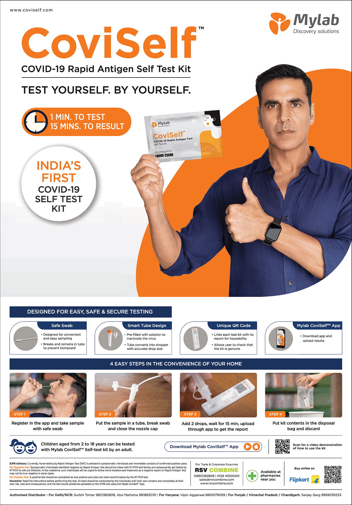 """""""We spent over five months to redesign the kit for easy home use"""":  Mylab's MD on CoviSelf antigen test kit"""