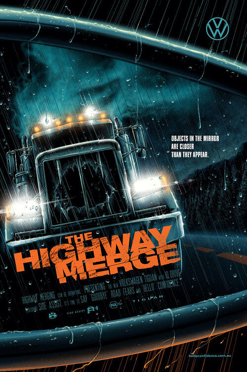 DDB Sydney designs horror movie-themed posters for daily driving nightmares