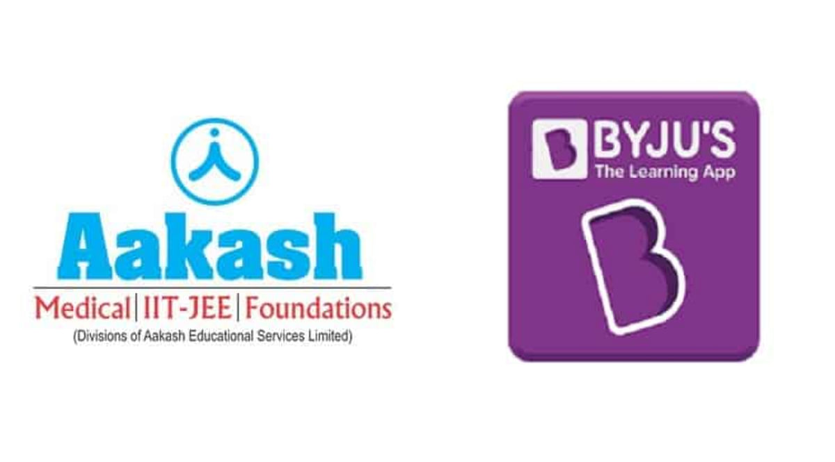 To what extent should edtech brand Byju's influence coaching class Aakash's brand identity?