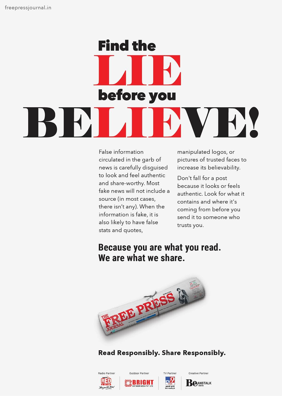 The Free Press Journal Takes on Fake News