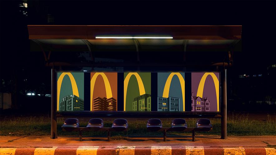 McDonald's France revels in pixelated shots of its popular menu items as restaurants reopen