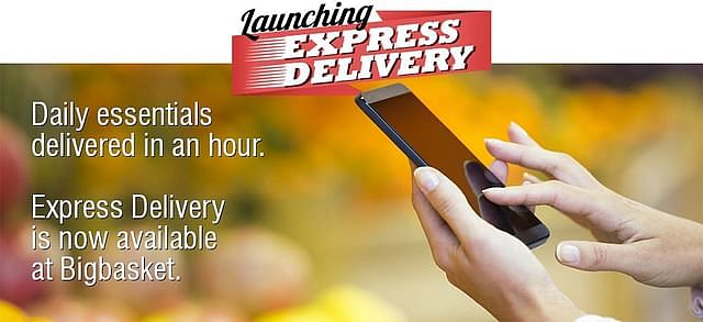BigBasket's delivery promise