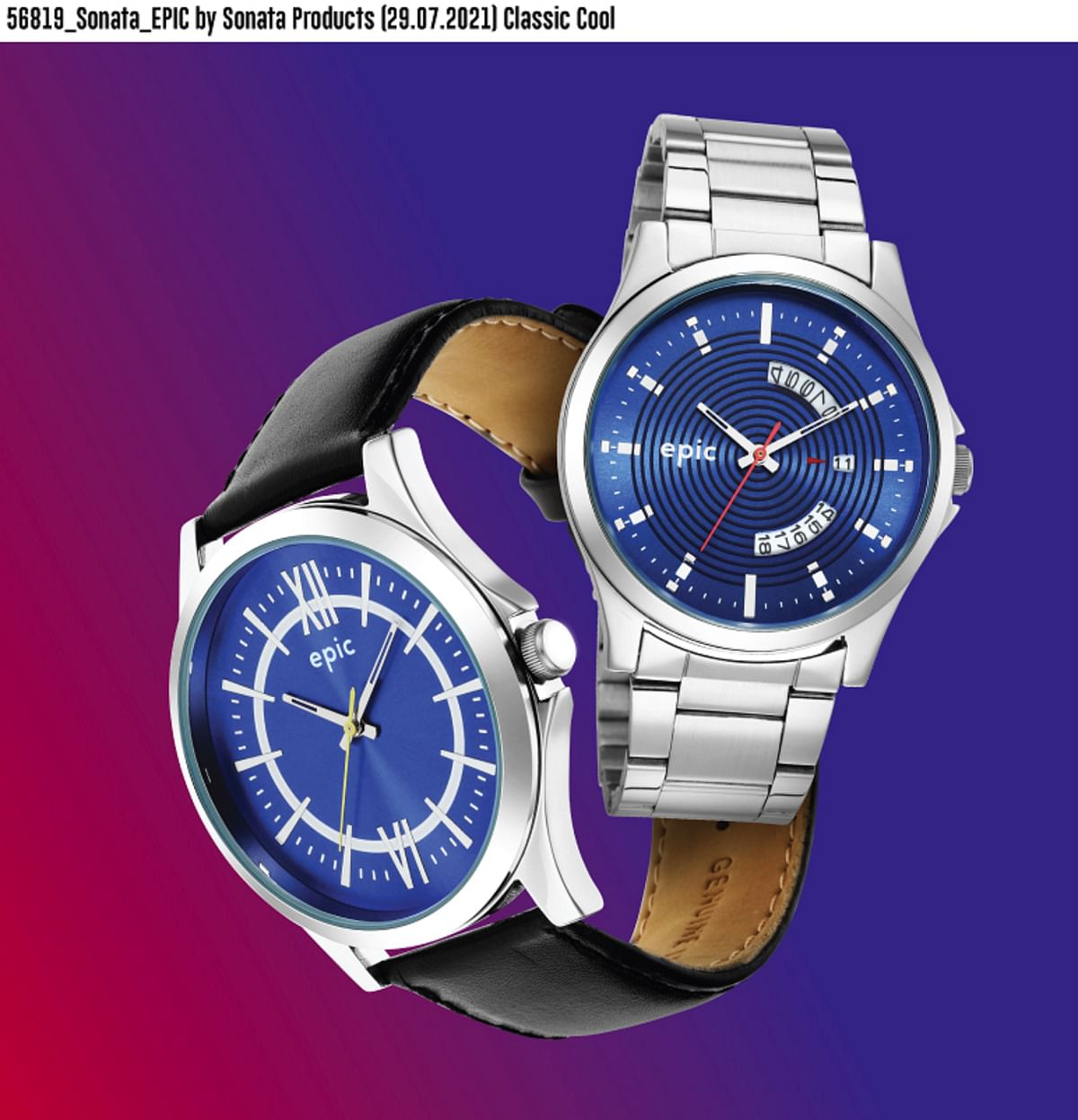 """""""There's an explosion of fashion in the mass segment"""": Sonata's Subish Sudhakaran on the 'Rs 499 watch'"""