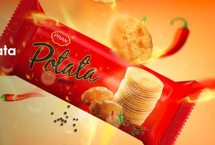 From frayed edges to the stacking of chips, ITC and Britannia's response to Pran's Potata looks quite similar