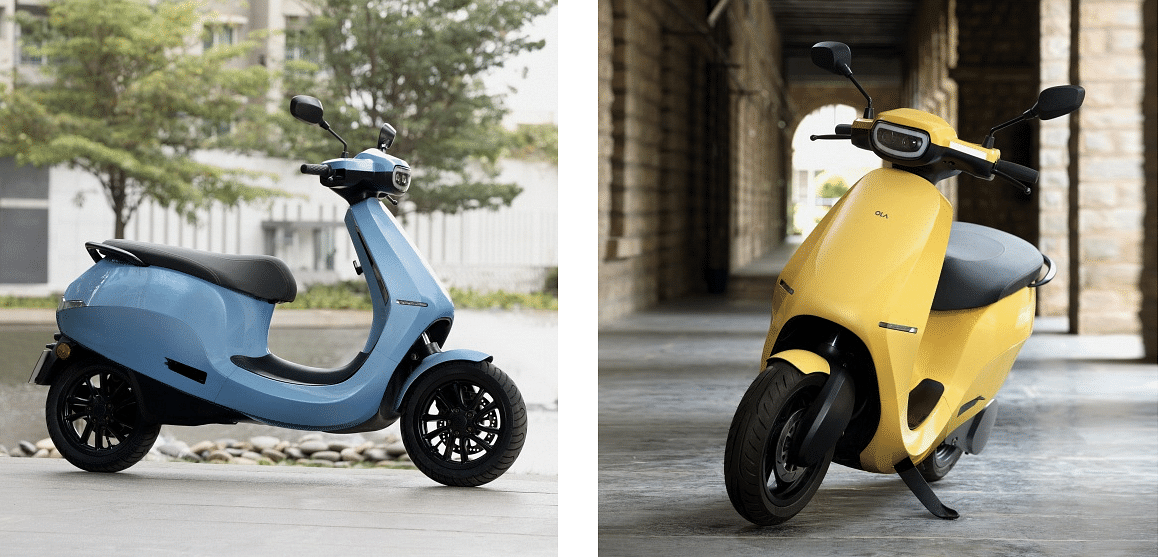 A glimpse of the Ola Scooters