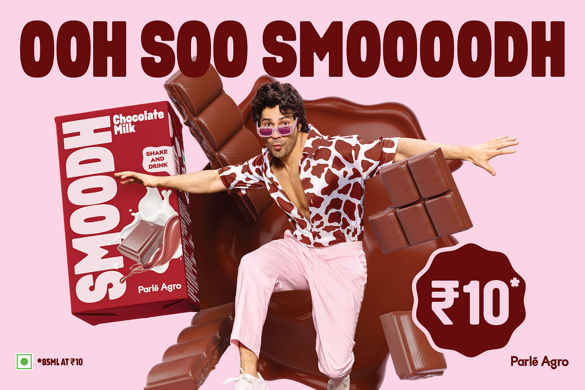 Parle Agro launches multi-channel campaign for dairy product SMOODH