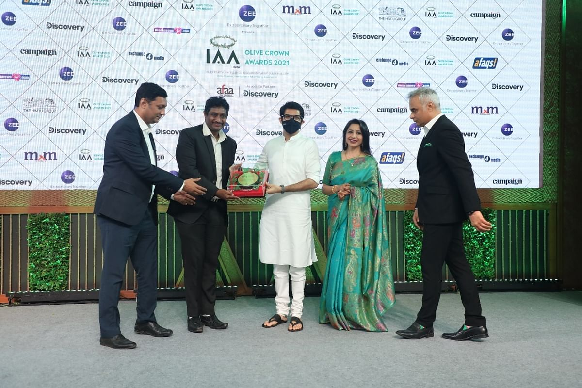 'Green Brand of the Year'-Gold won by IIFL Home Finance