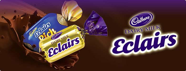 The Eclair's old packaging