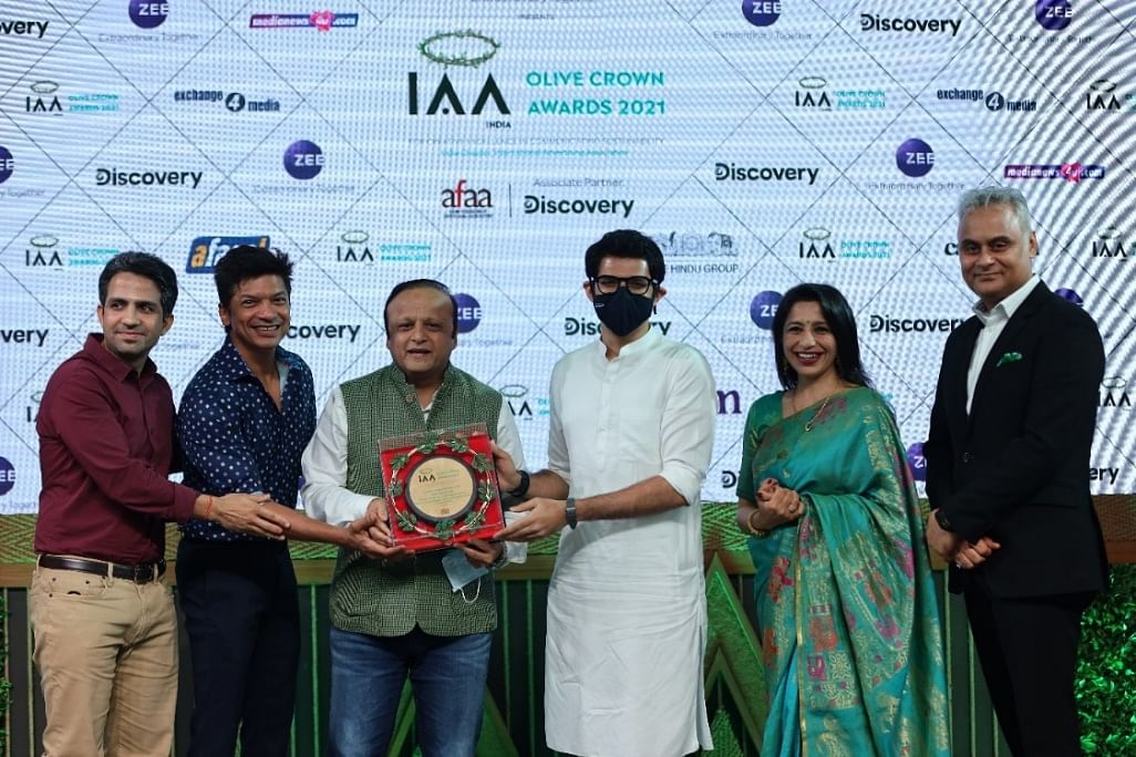 'Green Campaign of the Year'- Gold won by Bhamla Foundation for Dhak Dhak Dharti'