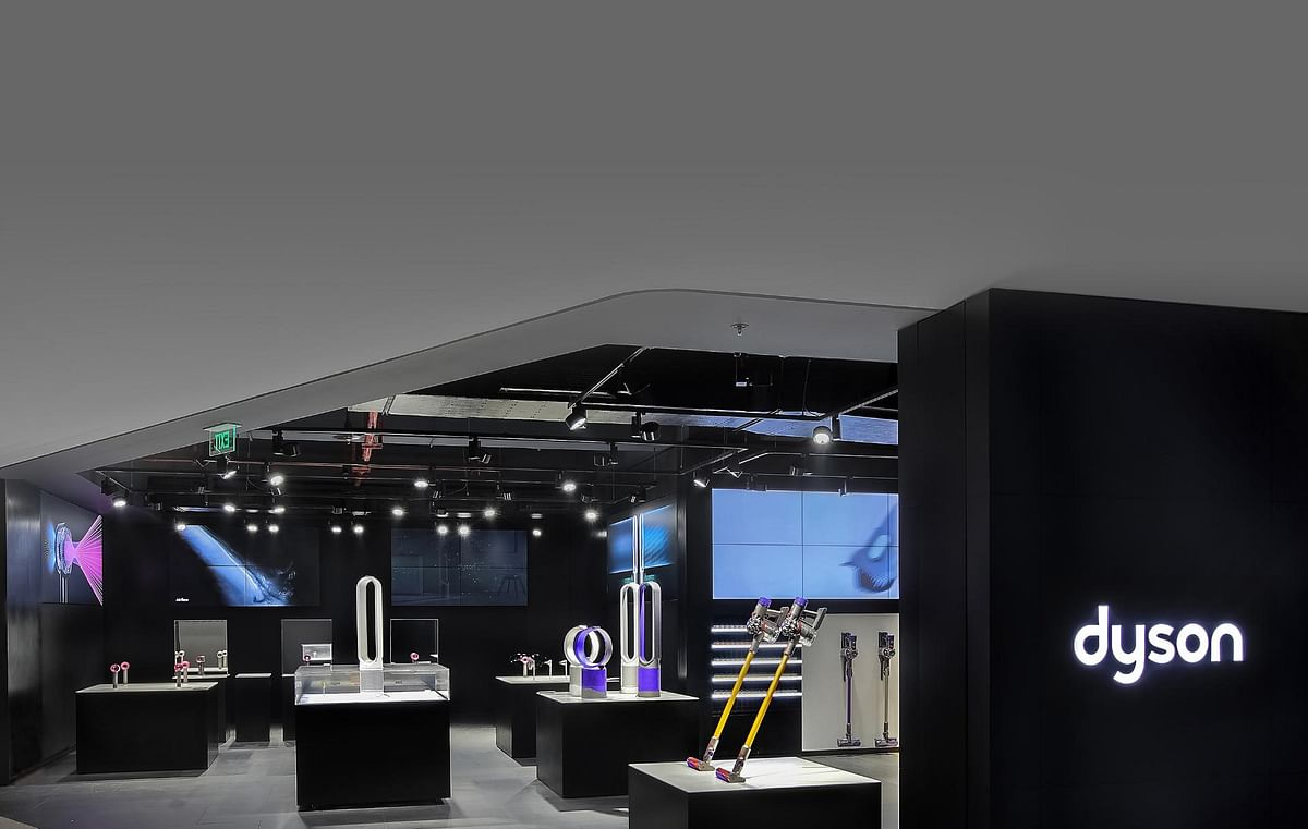 Dyson's experiential store