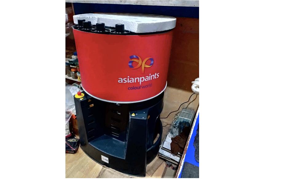 Asian Paints' colour mixing machine
