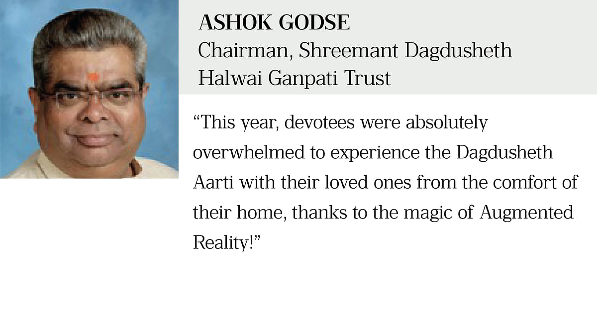 A heartfelt initiative to bring the beloved Bappa home for devotees through Augmented Reality!