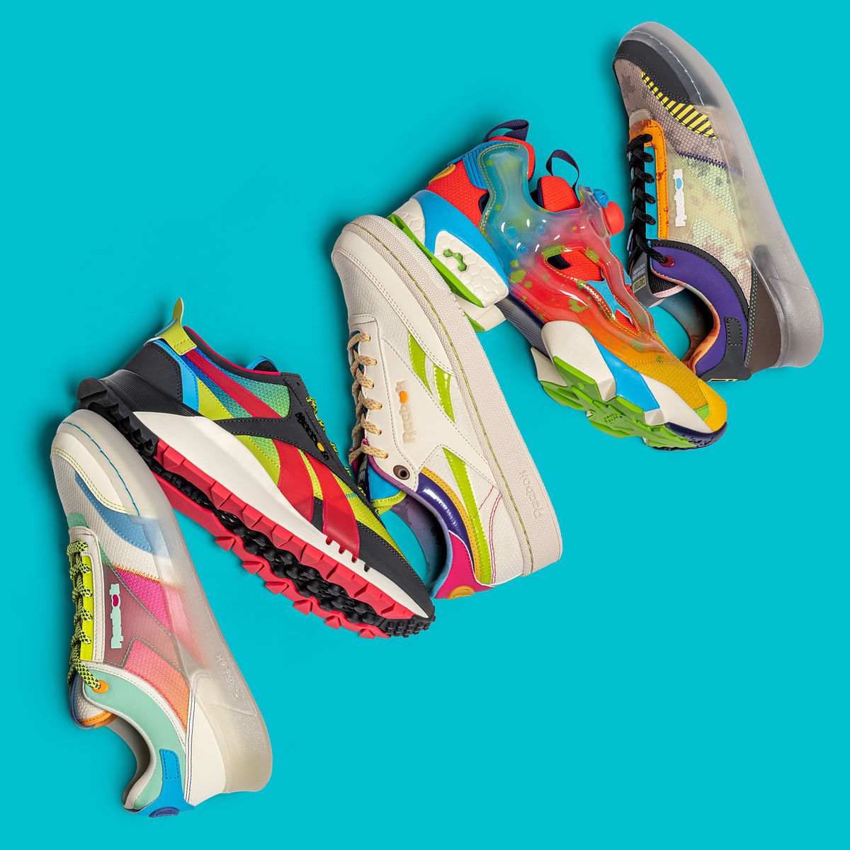Reebok partners Jelly Belly for colourful sneaker collection