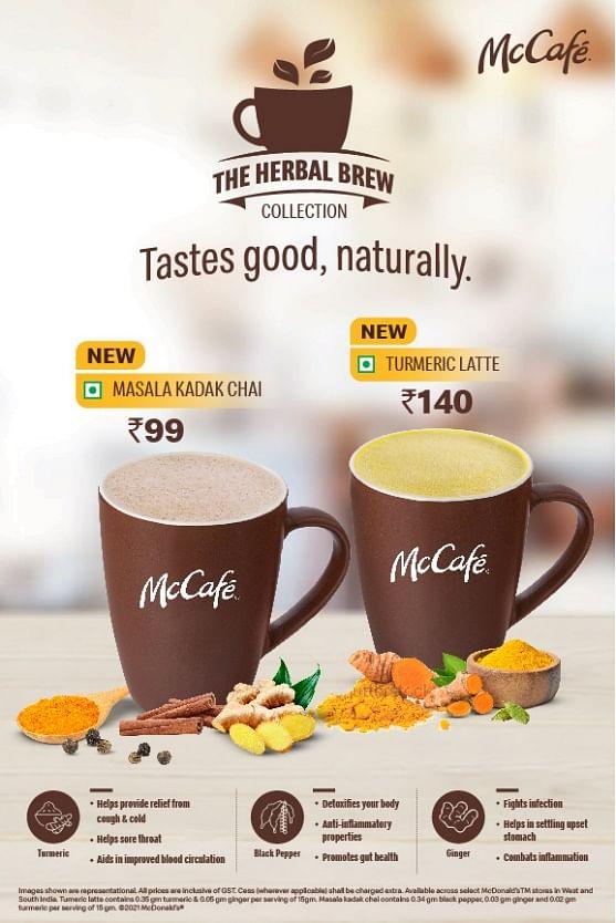 McDonald's pulls a Dabur, introduces immunity boosting beverages on menu