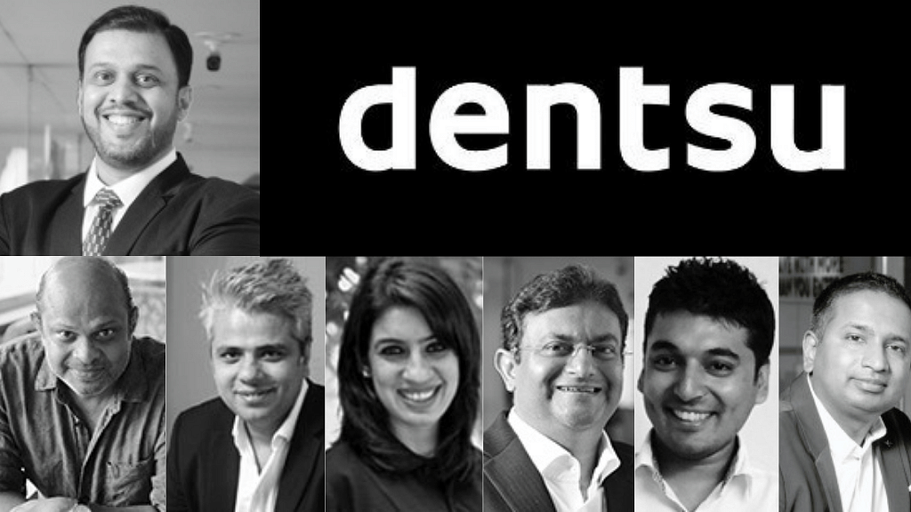 Anand Bhadkamkar (top); L-R: Aggie Dias, Shams Jasani, Rubeena Singh, Vivek Bhargava, Gautam Mehra, Gopa Menon