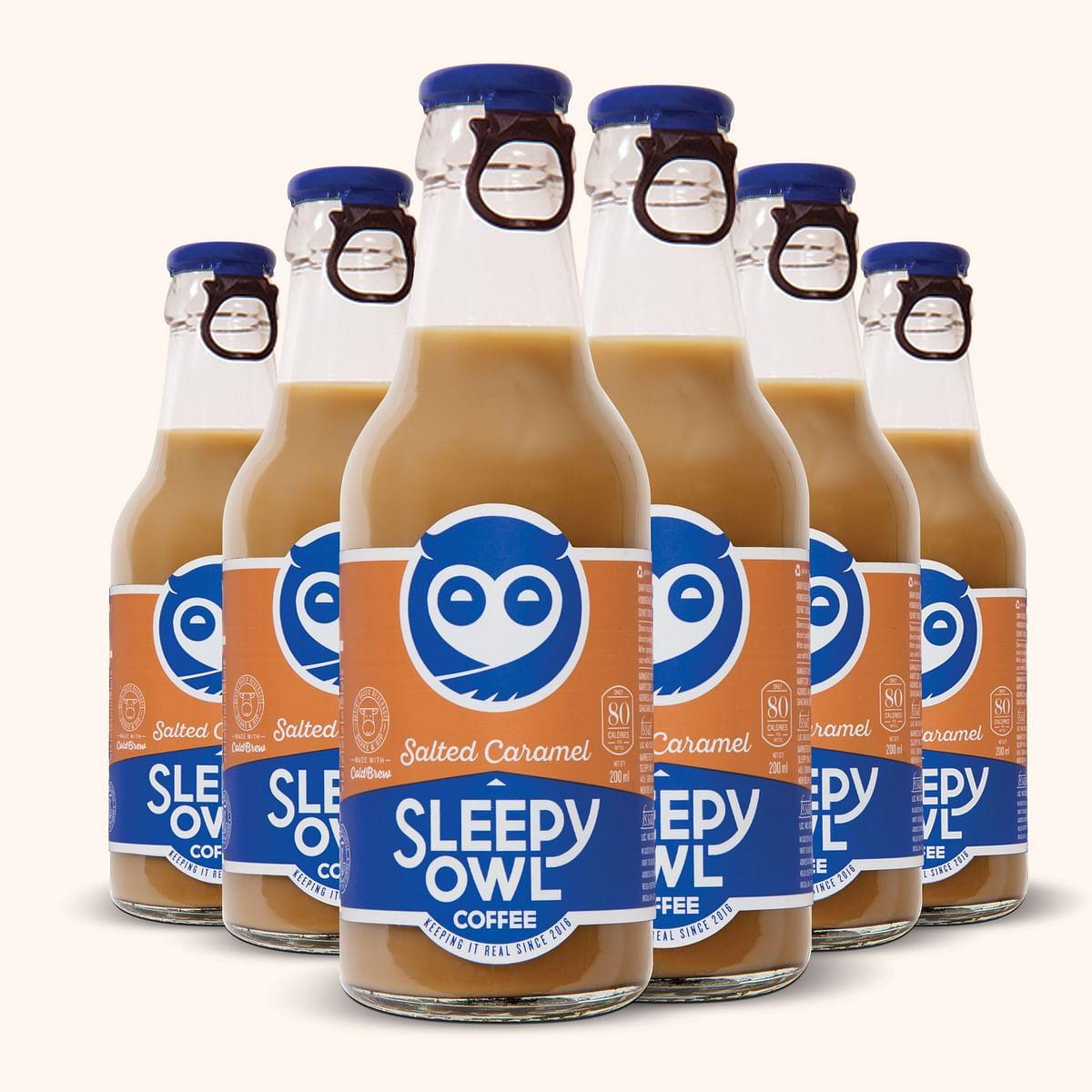Sleepy Owl's Cold Coffee