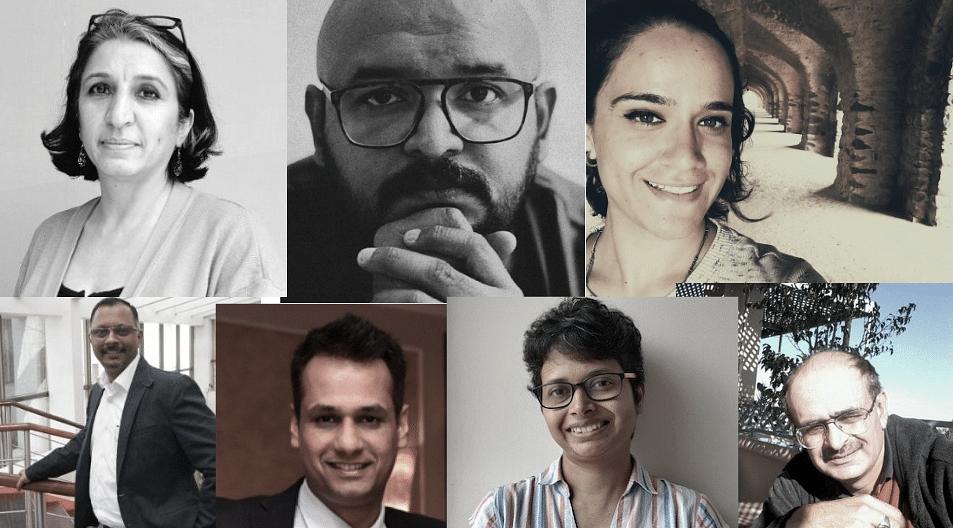 L-R Top Row: Atishi Pradhan, Nikhil Narayanan, Noor Samra