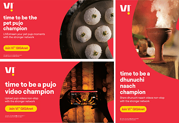 Brands out with ad campaigns celebrating the spirit of Durga Puja