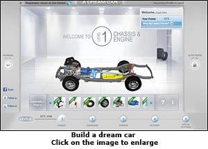 Is Tata Motors behind the Buildadreamcar.com campaign?
