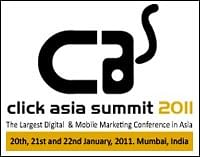 Click Asia Summit 2011: 'Highly recommending' social media
