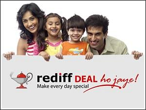 Rediff.com launches its group deals service, Deal Ho Jaye!, in 40 cities