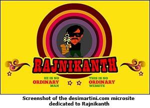 Rajinikanth's website does not need the internet