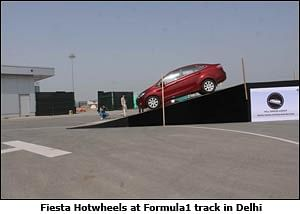 Ford India brings real life experience on F1 track