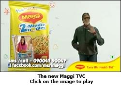 Maggi: Spreading happiness in '2 minutes'