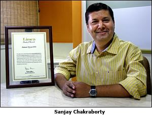 Adman enters Limca Book of Records for Inpublicinterest.in