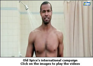 Old Spice: Manly act goes local