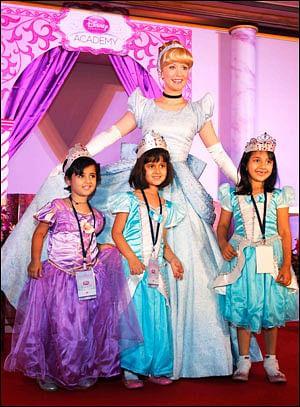 Disney turns little girls into princesses