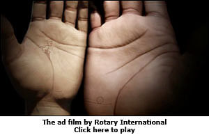 Rotary International Celebrates India's Polio-Free Status