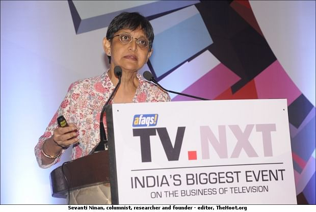 "TV.NXT 2014: ""Digitisation has increased choices but reduced affordability"": Sevanti Ninan"