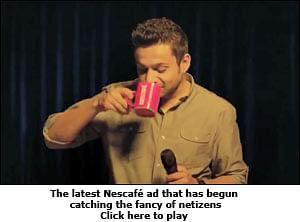 Nescafe stutters its way into netizens' hearts
