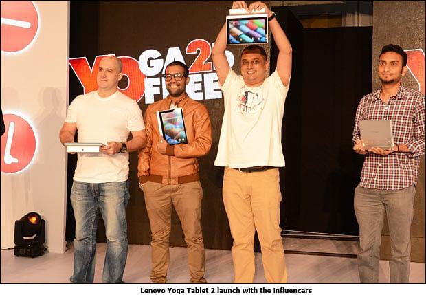 How Lenovo 'Unboxed' Yoga Tablet 2 on Twitter