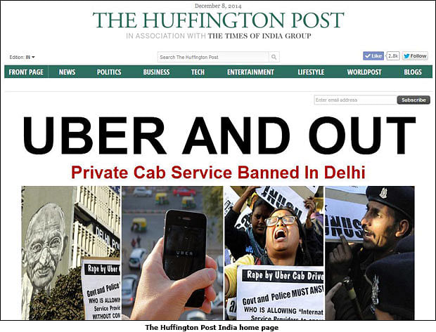 The Huffington Post Goes Live in India