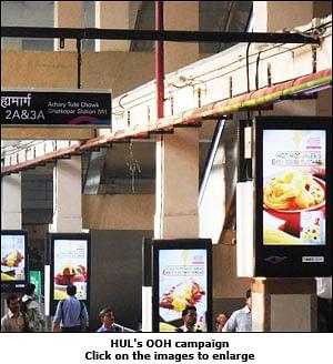 Brown and Polson Custard Powder at Mumbai Metro