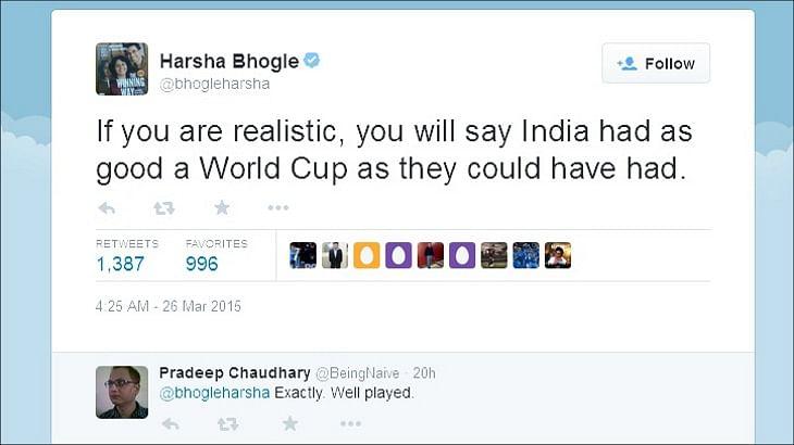 Twitter releases data on India – Australia semifinal