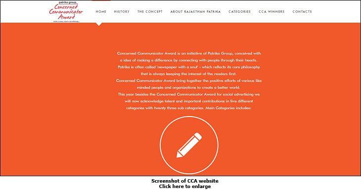 Srijan Advertising wins Concerned Communicator Award