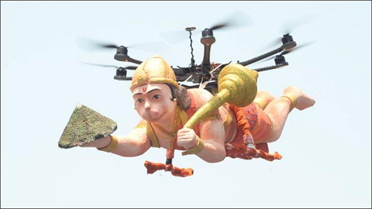 Sony's Flying Hanuman enchants audiences