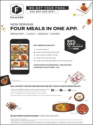 Faasos puts a wrap on eating dilemmas