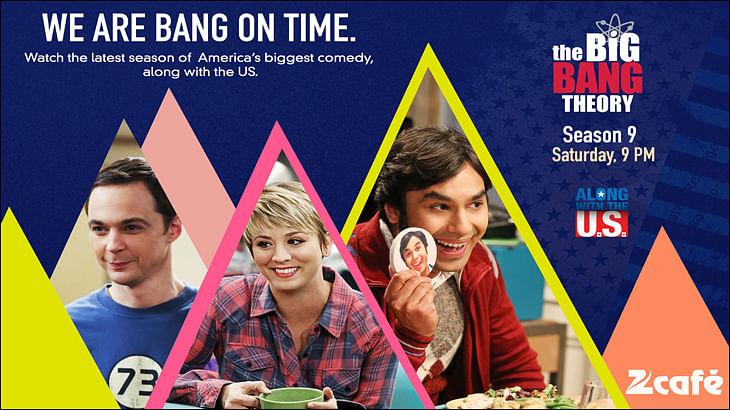 The Big Bang Theory Season 9 to be simulcast on Zee Cafe